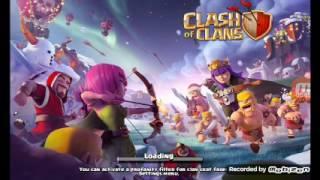 Chơi clash of clans nhà 7 tấn công