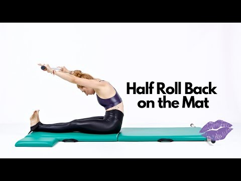 Half Roll Back on the Mat | Online Pilates Classes