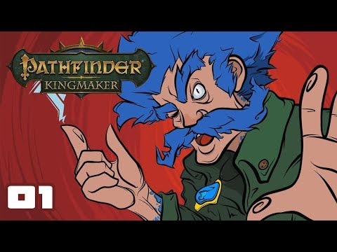 Let's Play Pathfinder: Kingmaker - PC Gameplay Part 1 - The Tale Of Kelgritz The Mad