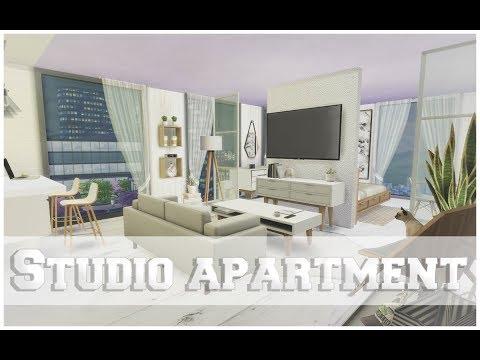 Studio Apartment - The Sims 4 Speed Build