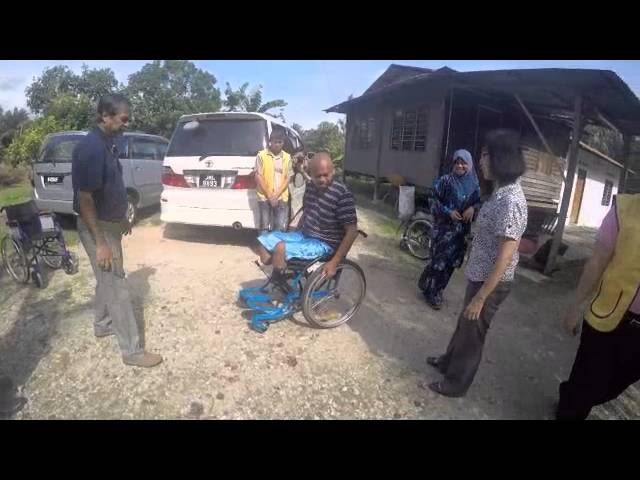 Wheelchair Donation Service Project
