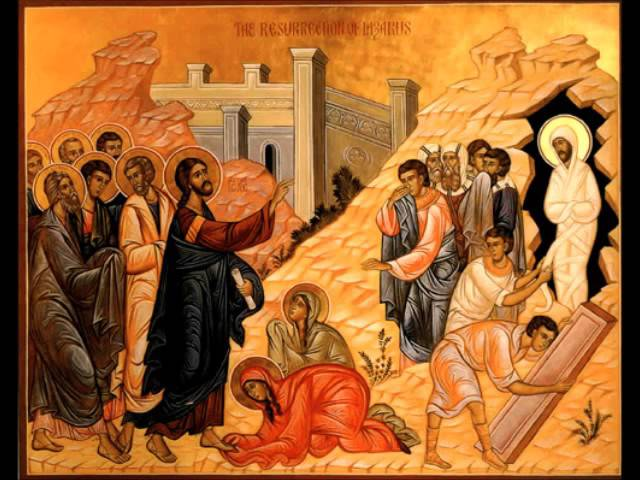 Rejoice, O Bethany: Lazarus Saturday