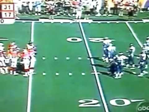 Nasty Edge James run in Pro Bowl game 2000-2001