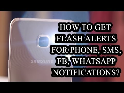 How to Get Flash Alerts for Android Phone Notifications?