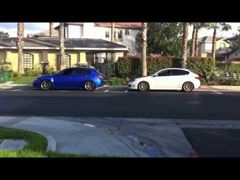 2011 and 2010 Subaru WRX STI Exhaust. Invidia N1 Street, and AMR