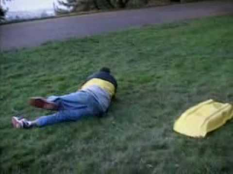 Watch Jackass Video Cliver Yellow Sled From Jackass Season 2 Online Browse Categories Jackassworld