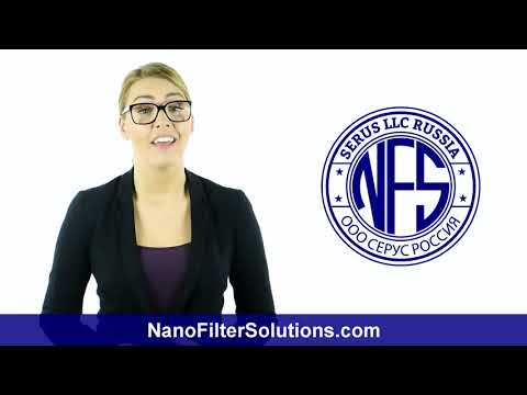 Clean filtered water with nanotechnology water filter system for home,commercial & Industrial use