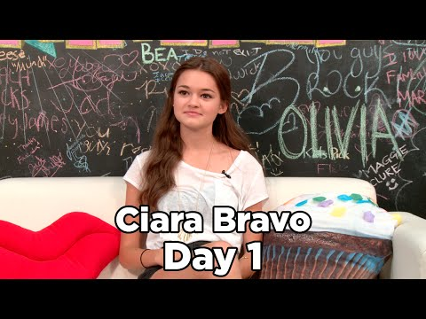 Ciara Bravo Talks New