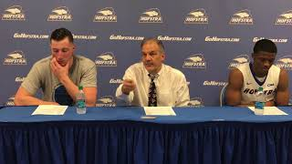MBB: Hofstra Postgame Press Conference vs. William & Mary (2/15/17) thumbnail