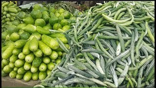 Biggest Village Vegetable Market in Bangladesh | Beautiful Muslim Eid Vegetables Market