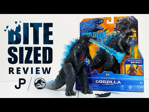 NEW Godzilla vs. Kong Toy Review - Godzilla w/ Heat Ray by Playmates Toys / collectjurassic.com
