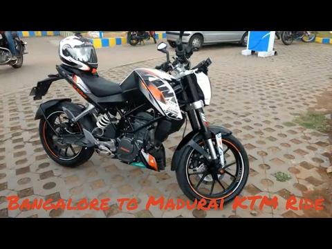Bangalore to Madurai Bike Ride