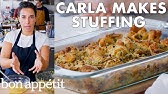 Carla Makes Thanksgiving Stuffing   From the Test Kitchen   Bon Appétit