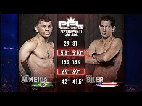 PFL Full Fight Friday: Steven Siler vs. Alexandre Almeida from PFL 4