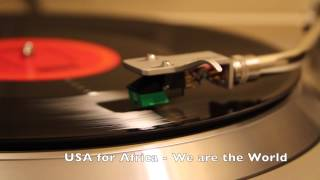 Usa For Africa We are the World Vinyl.mp3