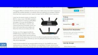 Linksys AC1900 Dual Band SMART Wi Fi Router EA6900 Review