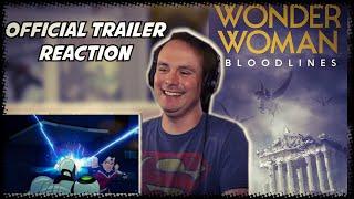 Wonder Woman: Bloodlines (2019) - Official Trailer REACTION
