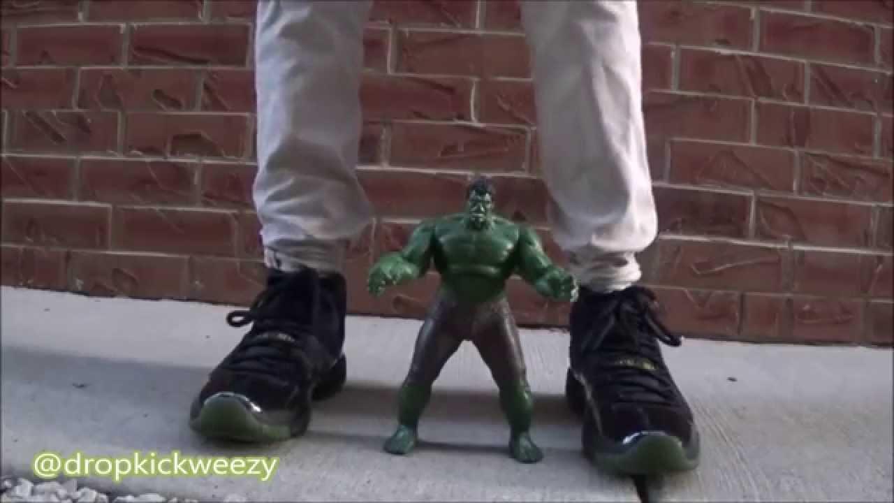 Custom Air Jordan 11 Gamma Dirty Hulks