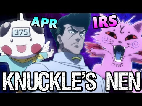 Knuckle's Nen: CHAPTER 7 BANKRUPTCY - Hunter X Hunter Discussion
