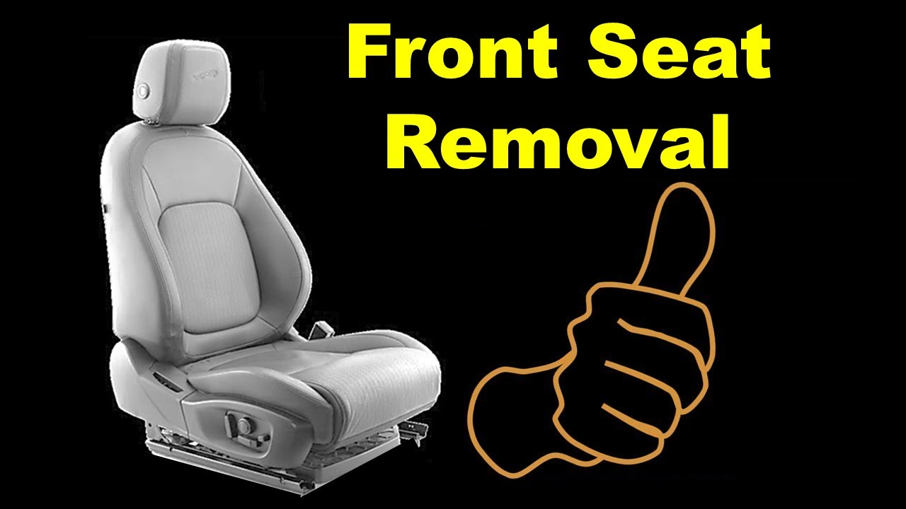 medium resolution of car front seat removal any how to remove seats from a car