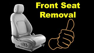 Front Seat Removal ANY Car Saab 9-3 how to replace take out #saabworld