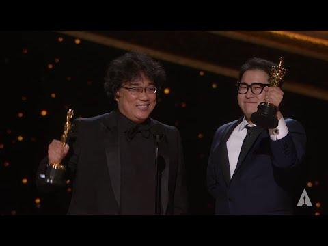 """Parasite"" wins Best Original Screenplay"
