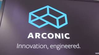 Video stand ARCONIC - Farnborough Air Show 2018 - iStandVideo