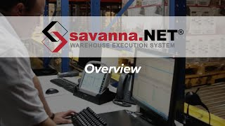 Savanna.NET® WMS/WCS Overview