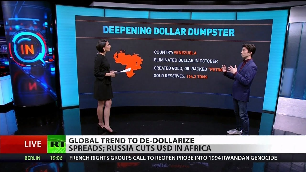 World Dumping US Debt & Hoarding Gold: De-dollarization Explained
