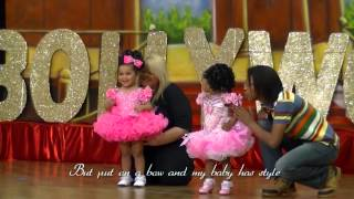 my baby is a glitter girl celebrating the baby division of child beauty pageants