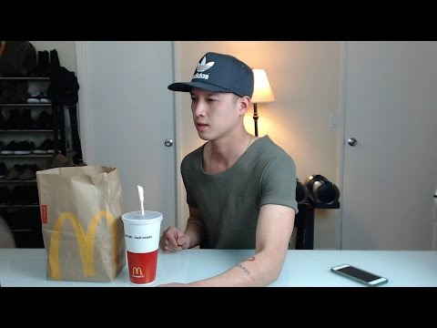 [MUKbang with THIEN]: McDonald's Big Mac, Chicken Nuggets, and Vanilla Cone