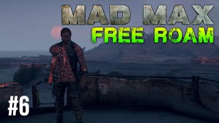 Mad Max Free Roam Gameplay #6 - The Convoy (Mad Max Single Player Free Roam)