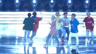 Video BTS _MIC DROP+FIRE+DNA@2017 SUPER KPOP CONCERT INKIGAYO (Fancam Full HD) download MP3, 3GP, MP4, WEBM, AVI, FLV Agustus 2018