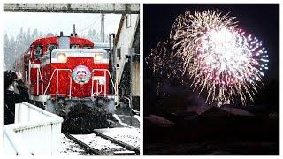 雪のDLクリスマストレイン! 磐越西線