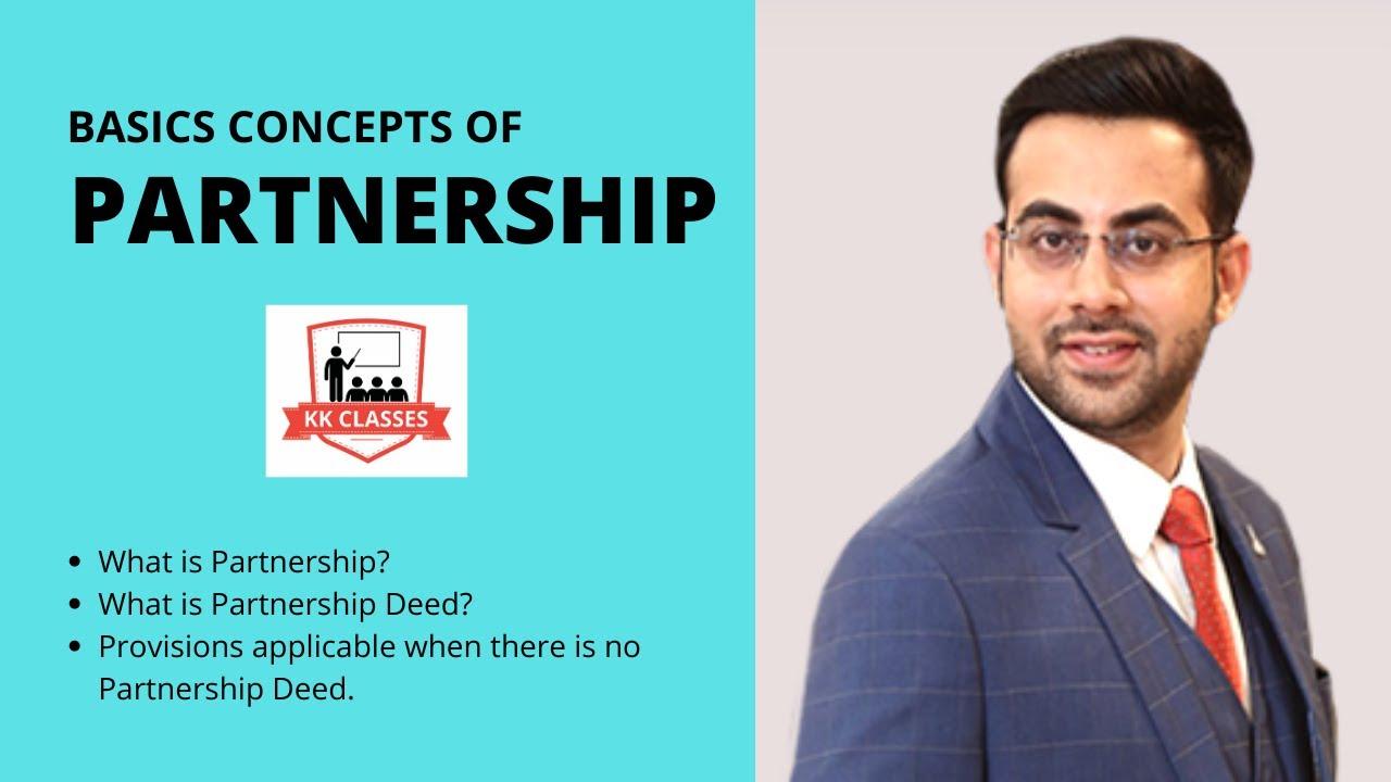 Partnership Basic Concepts