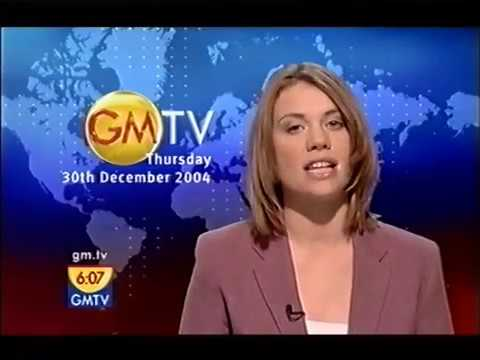 GMTV News Hour 30/12/2004 - Tsunami