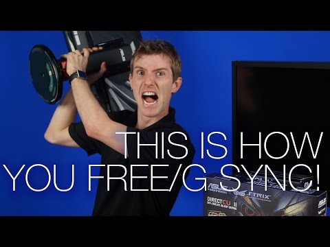 How to Setup Freesync and Gsync Feat. Samsung U28E850