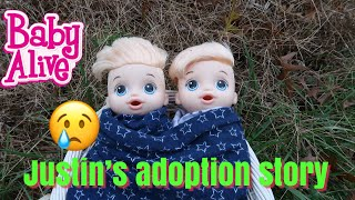 BABY ALIVE Justins Adoption Story Twins?? baby alive video