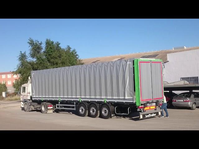 Transportes de Madera y Generales. Uso de plegadores 1