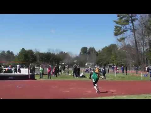 Kevin McGrath High Jump Merrimack Valley Invitational