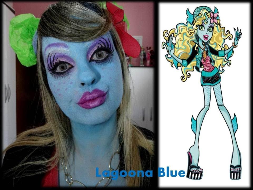 MAQUIAGEM DA BONECA MONSTER HIGH LAGOONA BLUE - MAQUIAGEM ARTÍSTICA ...