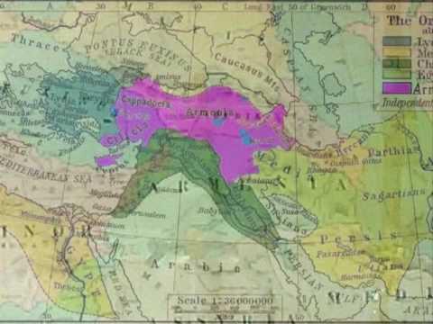 Historical And Future Maps Of  ARMENIA