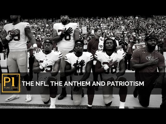 """The NFL, The Anthem and Patriotism"""