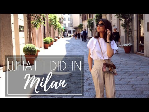 WHAT I DID IN MILAN | Travel Vlog | JASMINA BHARWANI