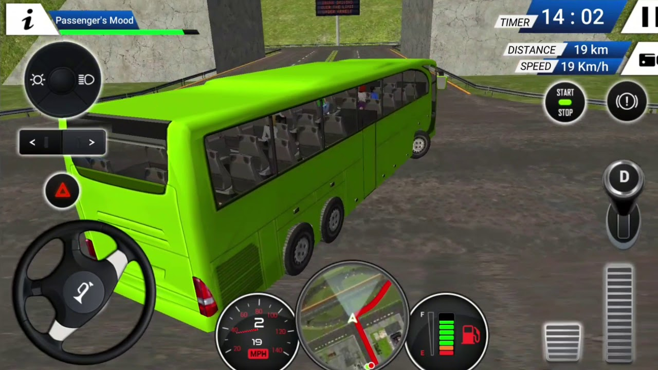 Euro Bus Driving Simulator 2018 Android Gameplay Fhd Youtube