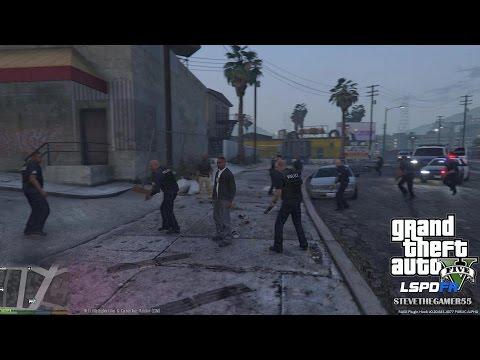 GTA 5 - LSPDFR - EPiSODE 36 - LET'S BE COPS - DETECTIVE PATROL - BAIT CAR (GTA 5 PC POLICE MODS)