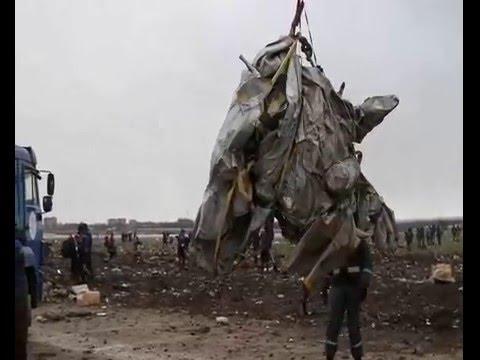 Авиакатастрофа Ростов. Boeing-737 (сбор обломков)