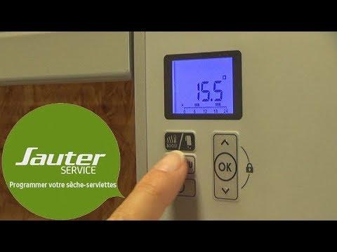 Comment Programmer Votre Radiateur Sèche Serviettes Sauter