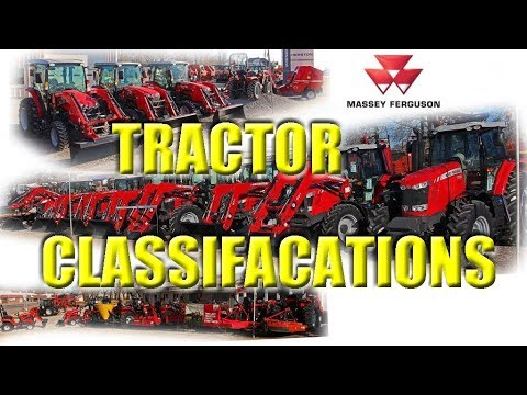 The Basics of Tractors: Tractor Classifications of Massey Ferguson