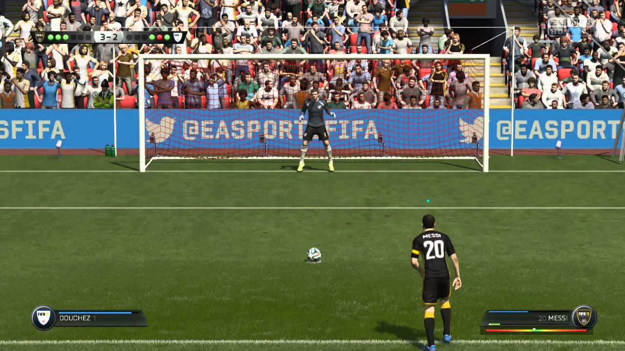 Penales / FIFA 15 Demo - YouTube